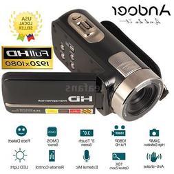 "FULL HD 1080P 24MP 3""LCD Touch Screen 16X ZOOM Digital Video"