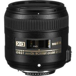 Nikon 40mm F2.8 G Micro DX Lens