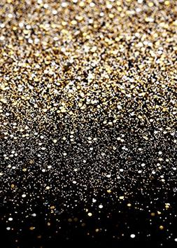 Daniu Gold Glitter Sequin Spot Backdrops Starry Sky Shining