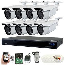 GW 5 Megapixel HD 1920P Complete Security System    x 5MP Ou