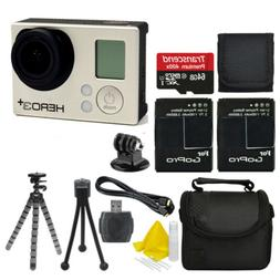 GoPro HD Hero3+ Plus Silver Edition HD Camcorder Camera +2 B