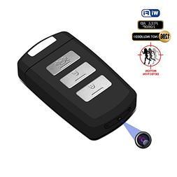 Hidden Camera Keychain WiFi DVR Recorder Fuvision 1080P Mini