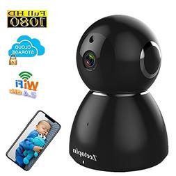 1080p Home Camera, HD Indoor Security Pan/Tilt / Zoom Wirele