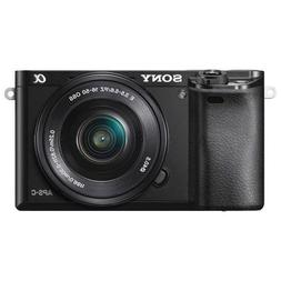 Sony Alpha a6000 Mirrorless Digital Camera with 16-50mm Powe
