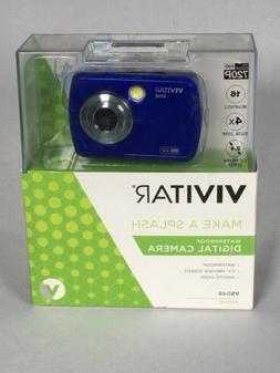 Vivitar Instant VS048 16.0-Megapixel Digital Camera, Blue
