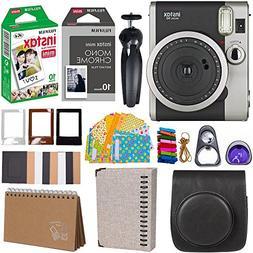 Fujifilm Instax Mini 90 Instant Camera + Fuji Instax Film  +