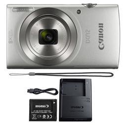 Canon Ixus 185 / Elph 180 20MP Digital Camera 8x Optical Zoo