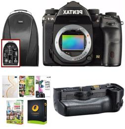 Pentax K-1 DSLR Camera  w/Backpack & Battery Grip Bundle