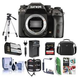 Pentax K-1 Mark II DSLR Camera - Bundle With 64GB SDHC Card,