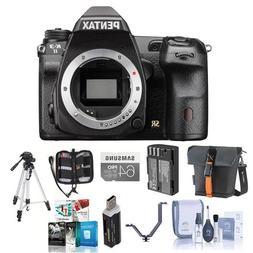 Pentax K-3 II DSLR Camera Body - Black - Bundle with 64GB SD