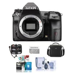 Pentax K-3 II DSLR Camera Body - Black - Bundle with 32GB SD