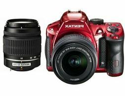 Pentax K-30 Digital Camera with 18-55mm AL and 50-200mm AL L