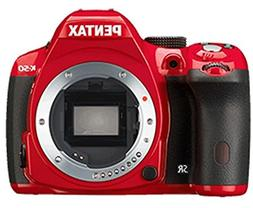 Pentax K-50 Digital SLR Camera, Red