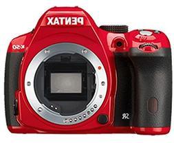 Pentax K-50 Digital SLR Camera, Red