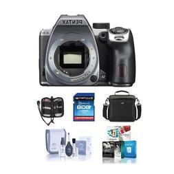 Pentax K-70 24MP Full HD Digital SLR Camera, Body Only, Silv