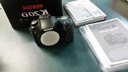 PENTAX Pentax K K20D 14.6MP Digital Camera, Black  NIB