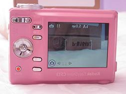 Kodak EasyShare C513 5MP Zoom Digital Camera - Pink