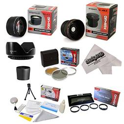 Kodak EasyShare P850 P712 Ultimate 15 Piece lens Kit Package