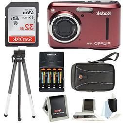 Kodak PIXPRO FZ43  + Sony 32GB SDHC + w/wallet, SwissGear Ca