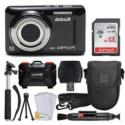 Kodak PIXPRO FZ53 Digital Camera  + 32GB Memory Card + Delux