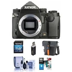 Pentax KP 24MP Compact TTL Autofocus DSLR Camera - Bundle wi