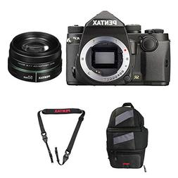 Pentax KP DSLR Camera  with a Pentax smc DA 50mm f/1.8 Lens