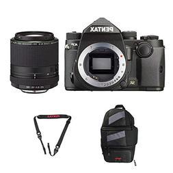 Pentax KP DSLR Camera  with a Pentax HD PENTAX-DA 55-300mm f