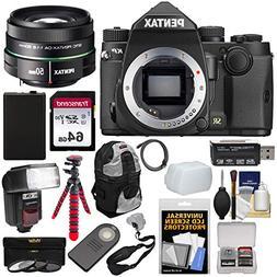 Pentax KP Wi-Fi Digital SLR Camera Body  with DA 50mm f/1.8