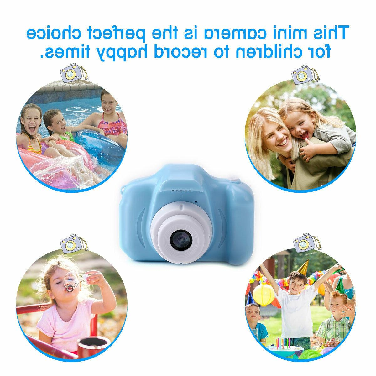 1080P Digital Camera Cute Camcorder Recorder Kids Gift