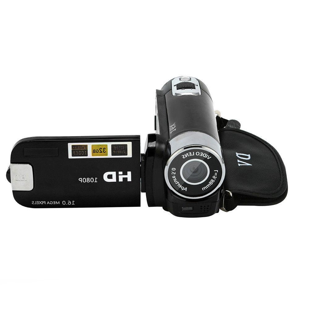 16MP 1080P Video Camcorder Digital Zoom 2.7''