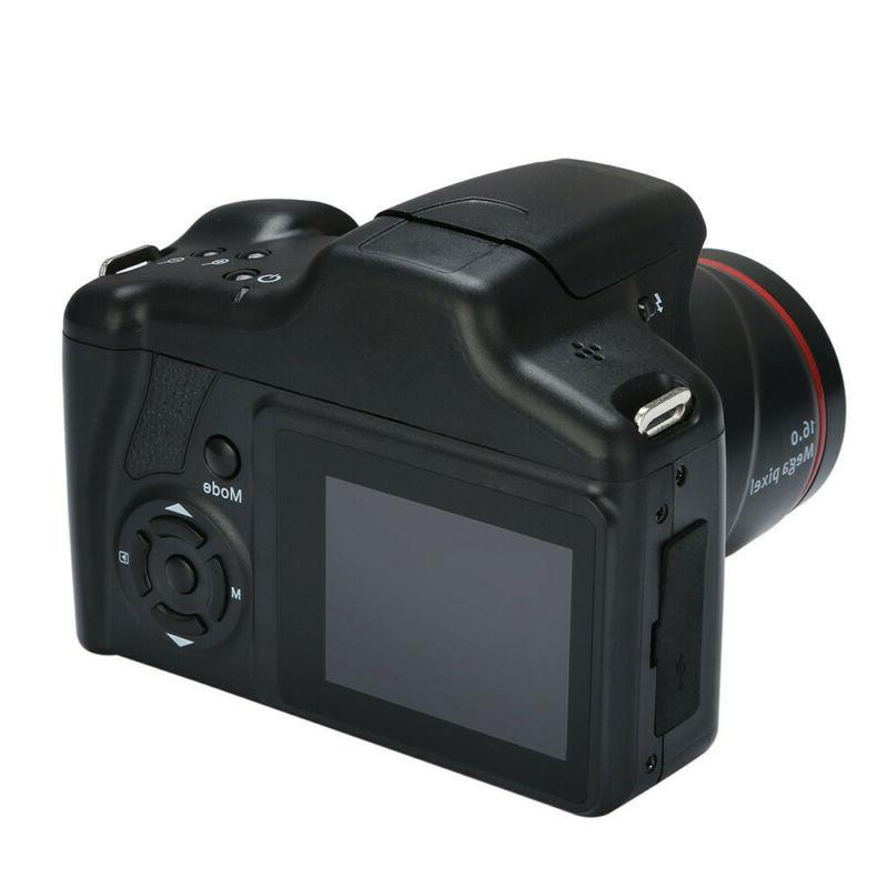 16MP 16X 2.4 Inch Anti-shake SLR Camera with Built