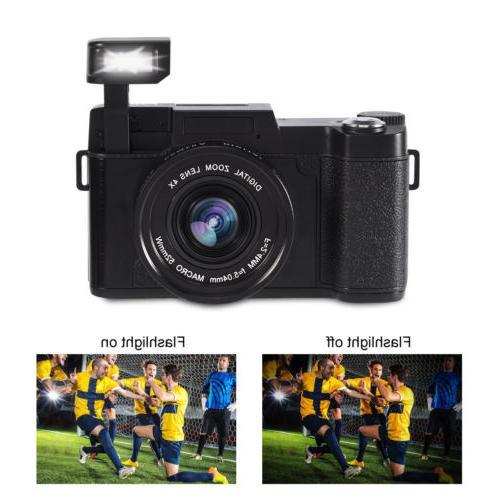 24MP Camera Full HD Professional Camcorder