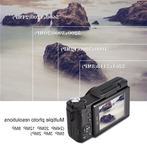 24MP Camera Full Professional Camcorder