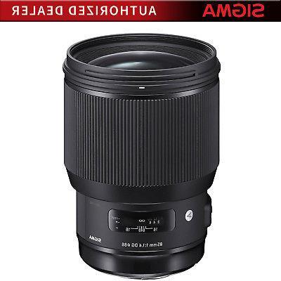 Sigma 85mm F1.4 DG HSM Art Full-Frame Sensor Lens for Sony E