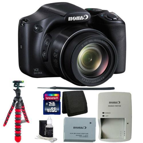 Canon PowerShot SX530 Digital Camera w/ 50x Optical Zoom - W