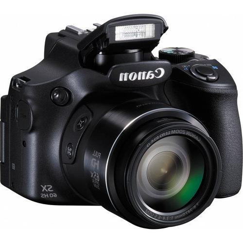 Canon SX60 16.1 Wi-Fi Optical + 64GB Reader + + Tripod Bag Digital Accessories