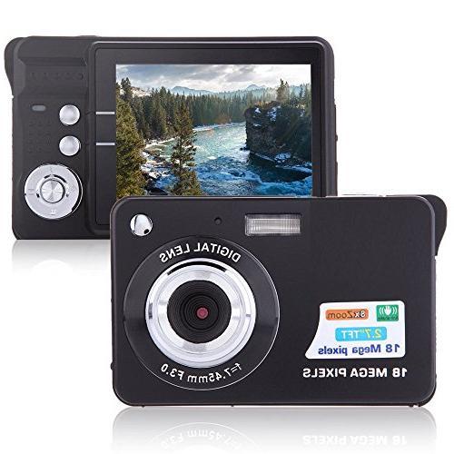 "Digital Camera, Lyyes 2.7"" Mini Camera HD 720P Digital Point"