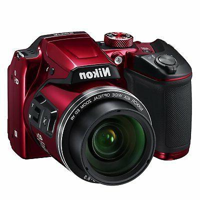 Nikon COOLPIX B500 16MP Digital Camera w/ 1080p Video, Bluet