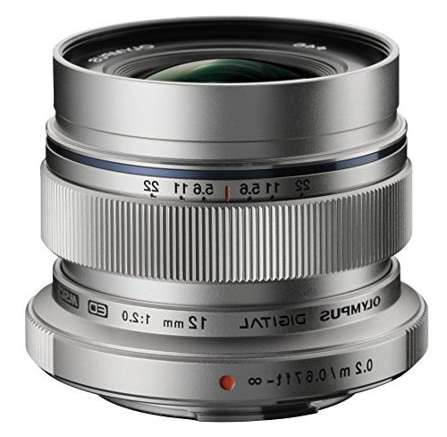 Olympus M. Zuiko Digital ED 12mm f/2.0 Lens for Micro Four T
