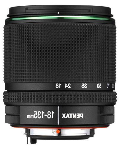 Pentax 21977 DA 18-135mm f/3.5-5.6 ED AL  DC WR Lens for Pen