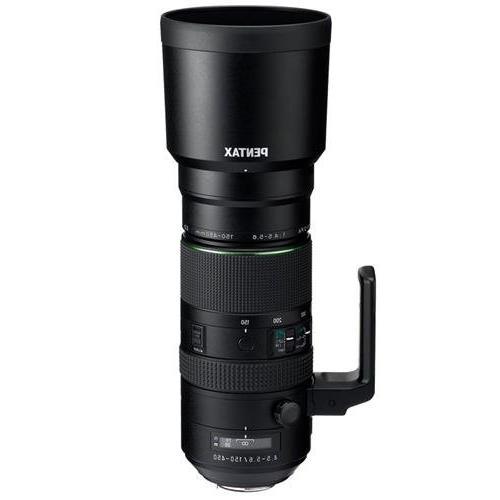 Pentax HD D FA 150-450mm f4.5-5.6ED DC AW Super-Telephoto Le