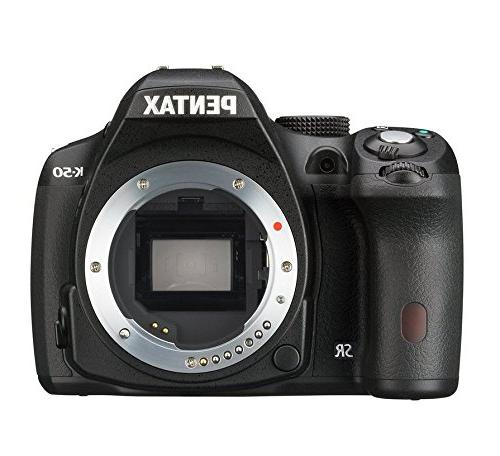 Pentax K-50 16MP Digital SLR Camera with 3-Inch LCD - Body O