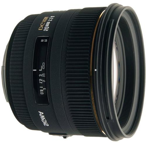 Sigma 50mm f/1.4 EX DG HSM Lens for Nikon Digital SLR Camera