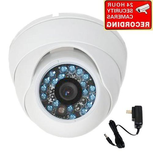 VideoSecu Dome Security Camera 600TVL Built-in 1/3 SONY CCD