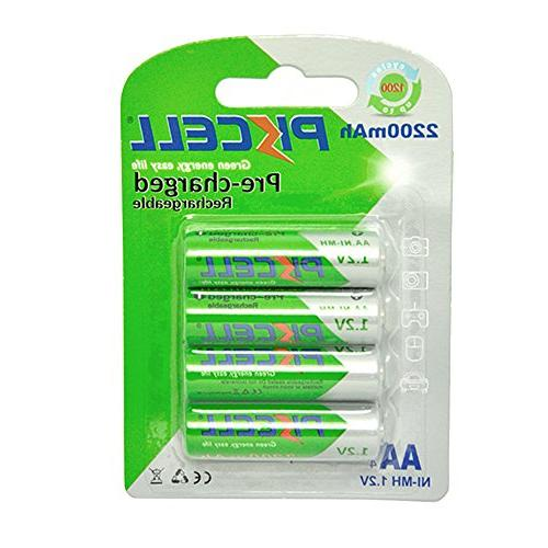 aa charged rechargeable battery