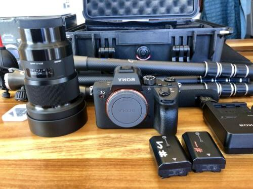 Sony 7R III 42.4 Digital Camera - With 20mm DG