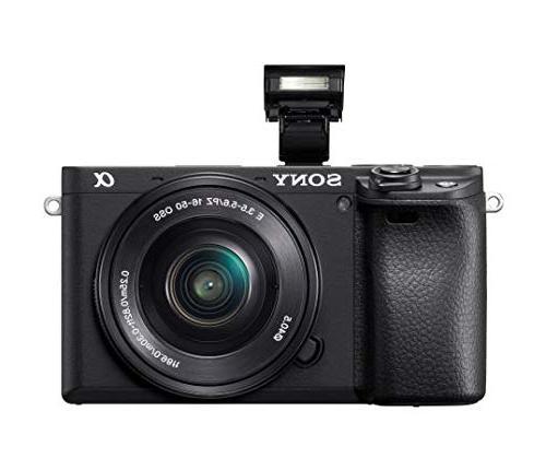 Sony Alpha Camera: Lens Real-Time Eye Auto 4K & 16-50mm Lens E - ILCE-6400L/B