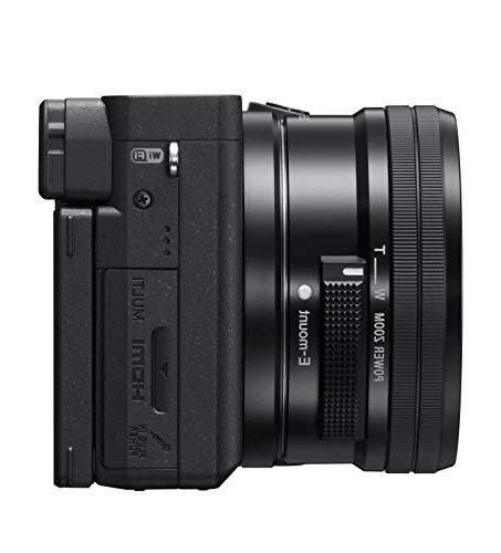 Sony Mirrorless Camera: Compact APS-C Lens with Real-Time Auto 4K Video, Screen & E