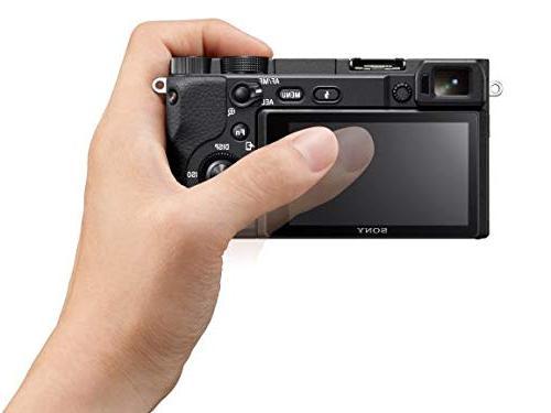 Camera: APS-C Lens Digital Camera with Real-Time Eye Auto Focus, 4K Video, Flip & 16-50mm Lens - E Compatible Cameras -