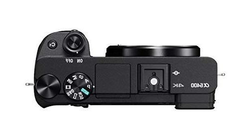 Sony Alpha Mirrorless Camera: Compact Interchangeable Lens Camera Real-Time Eye Focus, 4K Video, Flip Screen & Lens E Mount -
